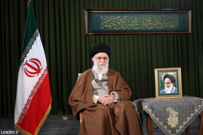 ayatollah khamenei calls for 'jump in production' as Iron rings in new year